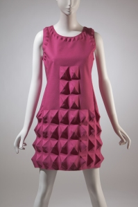 Pierre Cardin, dress, Dynel (Cardine), 1968, France. Gift of Lauren Bacall.